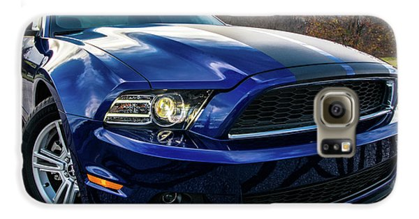 Galaxy S6 Case featuring the photograph 2014 Ford Mustang by Randy Scherkenbach