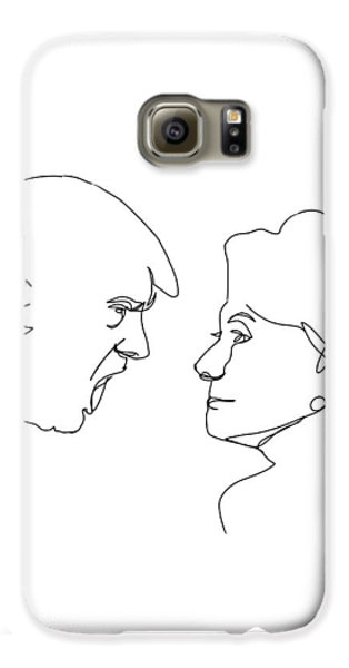 2016 Election Galaxy S6 Case by Harold Belarmino