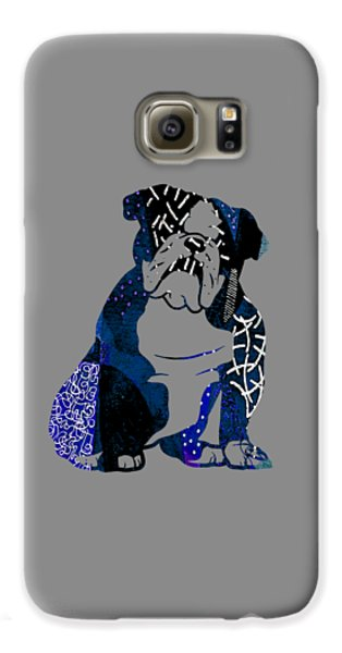 English Bulldog Collection Galaxy S6 Case by Marvin Blaine