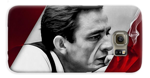 Johnny Cash Collection Galaxy S6 Case