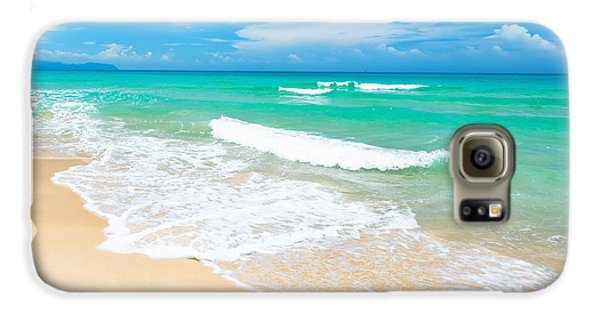 Beach Galaxy S6 Case