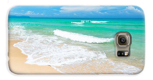 Beach Galaxy S6 Case - Beach by MotHaiBaPhoto Prints