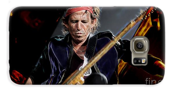 Keith Richards Collection Galaxy S6 Case by Marvin Blaine