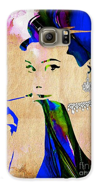 Audrey Hepburn Collection Galaxy S6 Case by Marvin Blaine