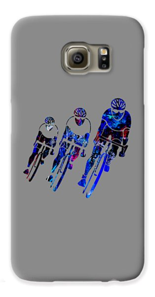 Bike Racing Galaxy S6 Case by Marvin Blaine