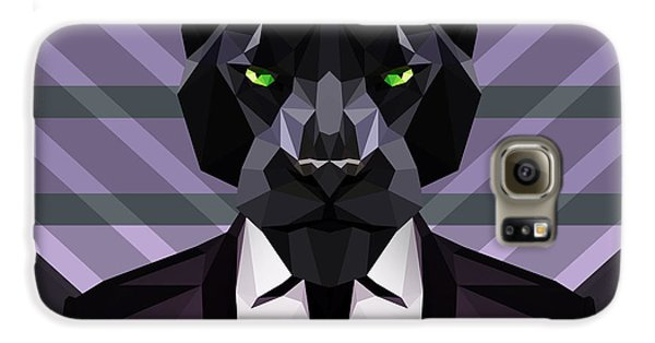 Black Panther Galaxy S6 Case by Gallini Design