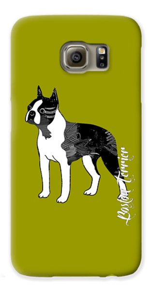 Boston Terrier Collection Galaxy S6 Case