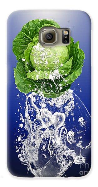 Cabbage Splash Galaxy S6 Case by Marvin Blaine