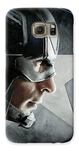 Ant Galaxy S6 Case - Captain America Civil War 2016 by Fine Artist