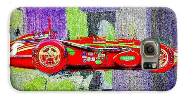 Classic Galaxy S6 Case - #car #sportscar #racecar #nascar by David Haskett II