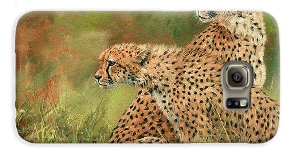 Cheetahs Galaxy S6 Case by David Stribbling
