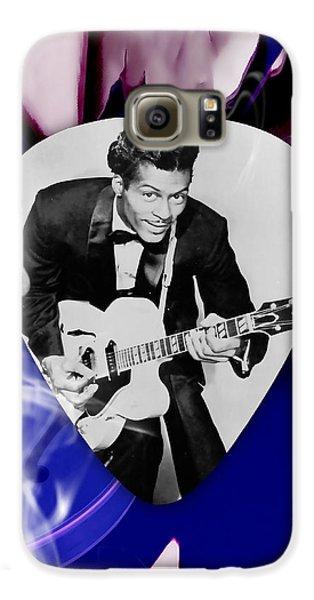 Chuck Berry Art Galaxy S6 Case by Marvin Blaine