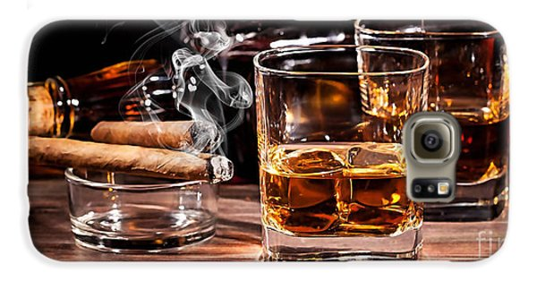 Cigar And Alcohol Collection Galaxy S6 Case