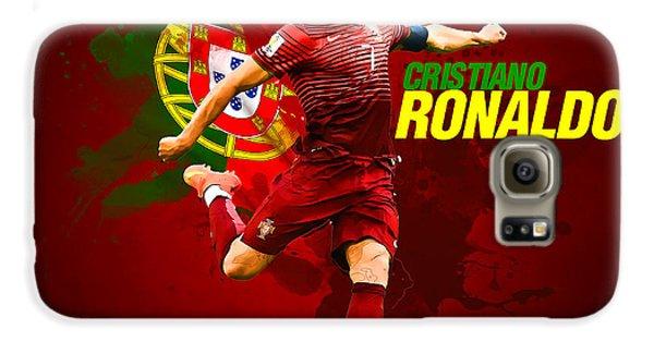 Cristiano Ronaldo Galaxy S6 Case by Semih Yurdabak