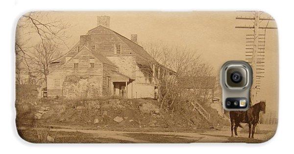 Dyckman Farmhouse  Galaxy S6 Case by Cole Thompson