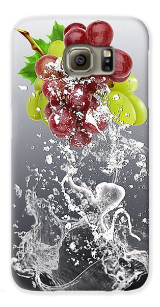 Grape Splash Galaxy S6 Case by Marvin Blaine