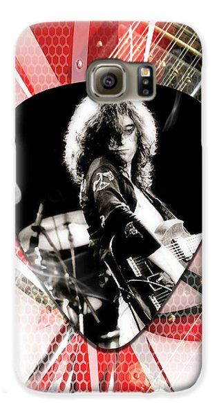 Jimmy Page Art Galaxy S6 Case