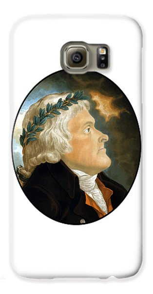 Thomas Jefferson Galaxy S6 Case - President Thomas Jefferson - Two by War Is Hell Store