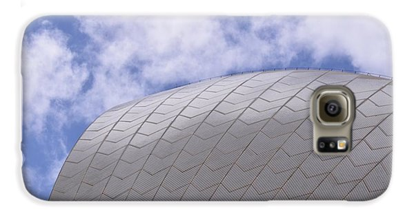 Sydney Opera House Roof Detail Galaxy S6 Case by Sandy Taylor