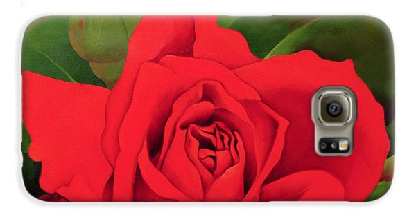 Rose Galaxy S6 Case - The Rose by Myung-Bo Sim