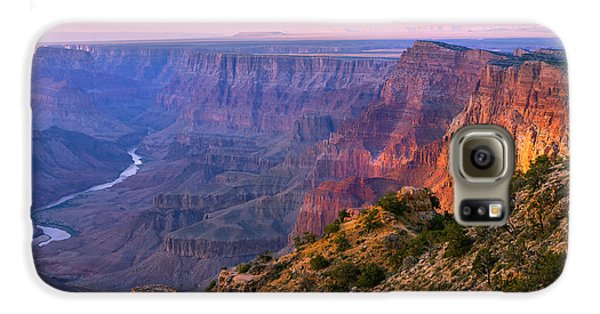 Landscapes Galaxy S6 Case - Canyon Glow by Mikes Nature