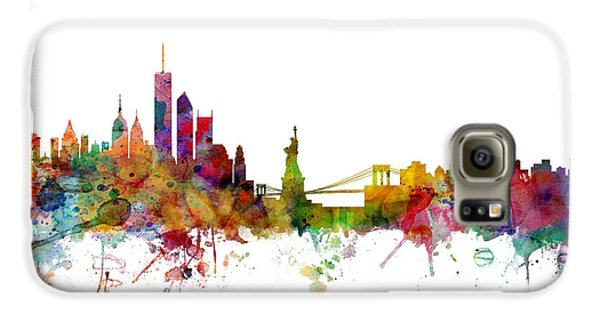 New York Skyline Galaxy S6 Case