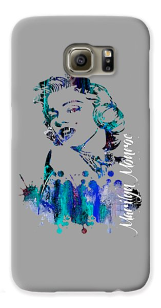 Celebrities Galaxy S6 Case - Marilyn Monroe Collection by Marvin Blaine
