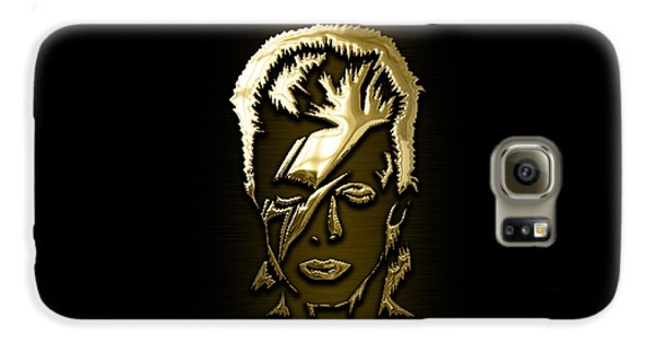 Rock And Roll Galaxy S6 Case - David Bowie Collection by Marvin Blaine
