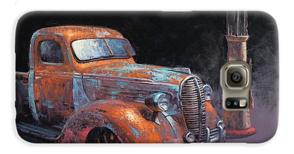 Truck Galaxy S6 Case - 38 Fat Fender Ford by Cody DeLong