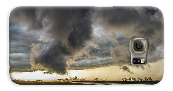 Nebraskasc Galaxy S6 Case - 3rd Storm Chase Of 2018 051 by NebraskaSC