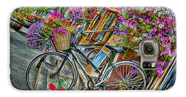 Flower Bike Collection Galaxy S6 Case