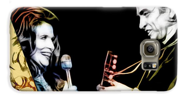 June Carter And Johnny Cash Collection Galaxy S6 Case by Marvin Blaine
