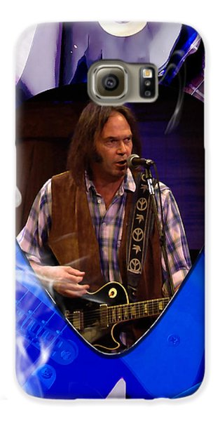 Neil Young Art Galaxy S6 Case
