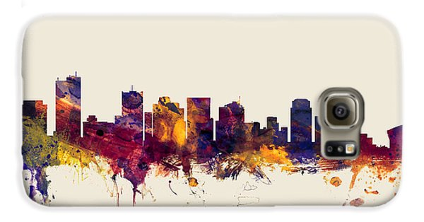 Phoenix Arizona Skyline Galaxy S6 Case by Michael Tompsett