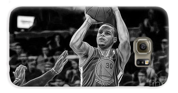 Steph Curry Collection Galaxy S6 Case by Marvin Blaine