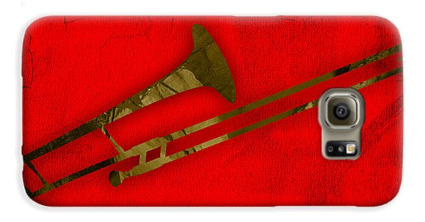 Trombone Collection Galaxy S6 Case by Marvin Blaine