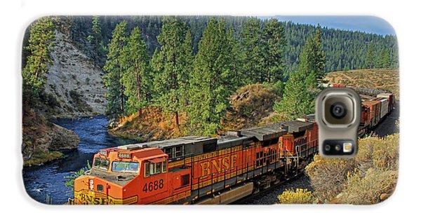 Train Galaxy S6 Case - 4688 by Donna Kennedy