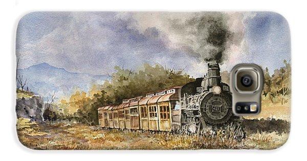Train Galaxy S6 Case - 481 From Durango by Sam Sidders