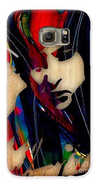 Bob Dylan Collection Galaxy S6 Case by Marvin Blaine