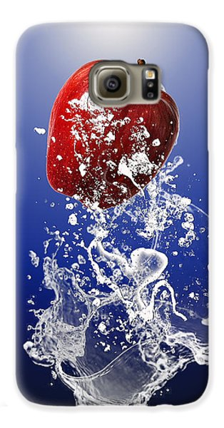 Apple Splash Galaxy S6 Case by Marvin Blaine