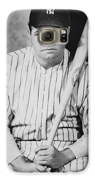 Babe Ruth Galaxy S6 Case by American School