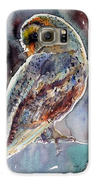 Barn Owl Galaxy S6 Case by Kovacs Anna Brigitta