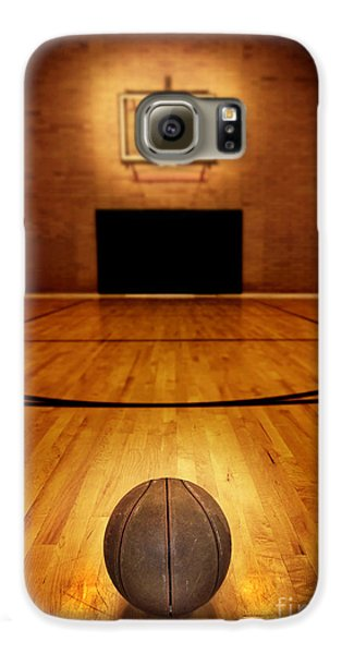 Basketball And Basketball Court Galaxy S6 Case