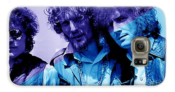 Cream Eric Clapton Jack Bruce Ginger Baker Galaxy S6 Case by Marvin Blaine