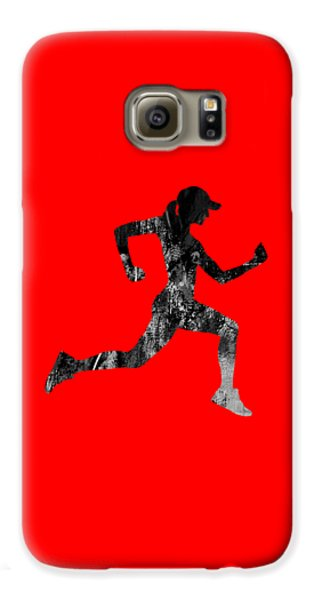 iRun Fitness Collection Galaxy S6 Case by Marvin Blaine