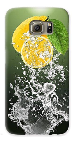 Lemon Splast Galaxy S6 Case by Marvin Blaine