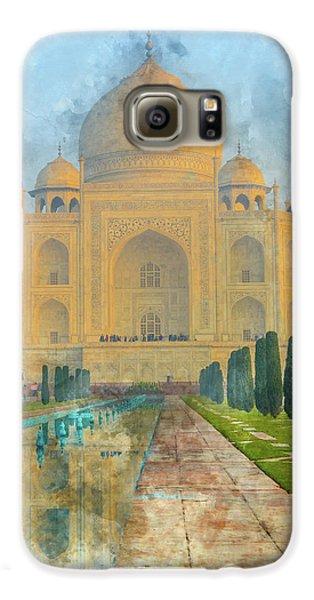 Taj Mahal In Agra India Galaxy S6 Case