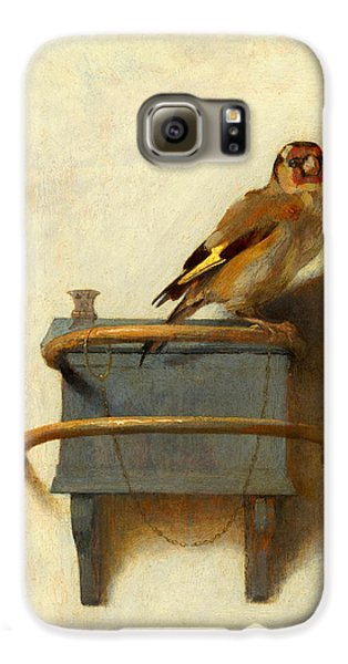 Meadowlark Galaxy S6 Case - The Goldfinch by Carel Fabritius