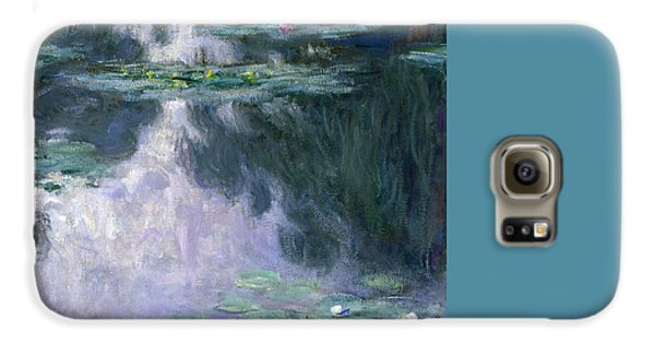 Lily Galaxy S6 Case - Waterlilies by Claude Monet