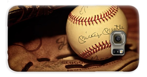 50 Home Run Baseball Galaxy S6 Case